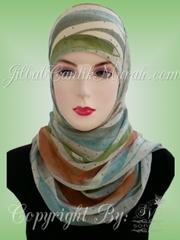 Pashmina Arab Langsung Pakai Pelangi Cantik - jilbabcantikmurah.com