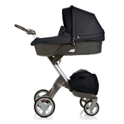 Stokke Xplory Newborn Stroller Carry Cot Dark Navy