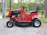 13 HP COX RIDE-ON MOWER