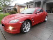 MAZDA RX8 6 SPEED MANUAL,  2004