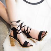 Flat strap sandals