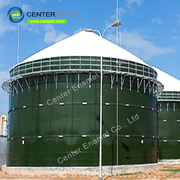 Porcelain Enamel Liquid Storage Tank for Industrial wastewater storage