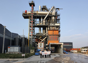 environmentally friendly asphalt plant mixing hot recycling equipment