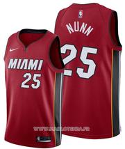 Miami Heat Kendrick Nunn No 25 Statement Red Jersey
