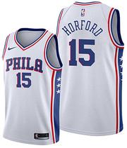 Philadelphia 76ers Al Horford NO 15 Association White Jersey