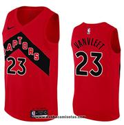 Toronto Raptors Fred Vanvleet NO 23 Icon 2020-21 Red Jersey
