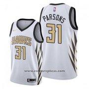Atlanta Hawks Chandler Parsons NO 31 City White Jersey