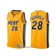 Miami Heat Andre Iguodala NO 28 Earned 2020-21 Gold Jersey