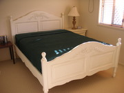 Brand new,  high quality Queen size bed and mattress at half price!